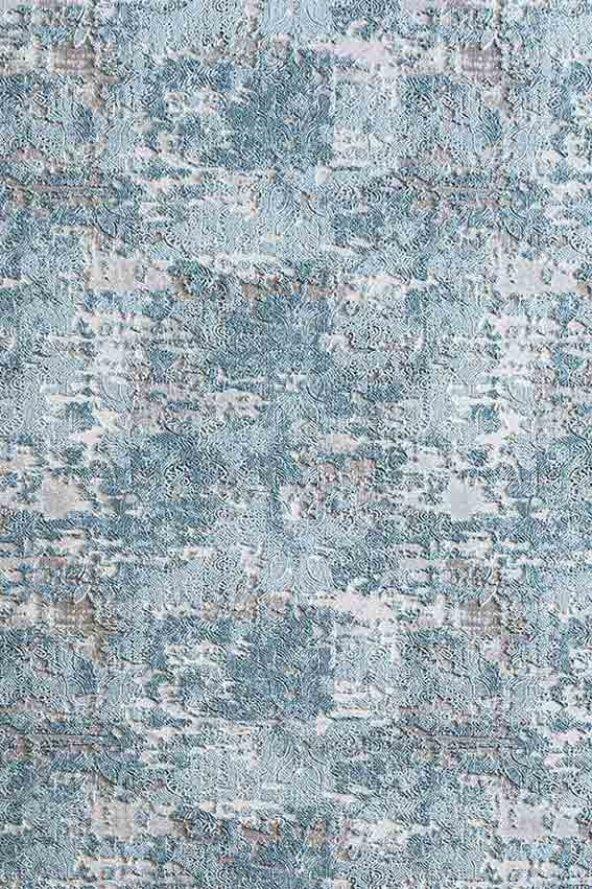 Mavi Renk Modern Salon Halısı - HS99002B