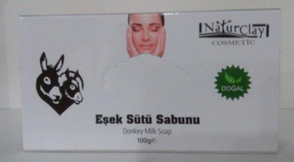 Naturclay Eşek Sütü Sabunu - Donkey Milk Soap