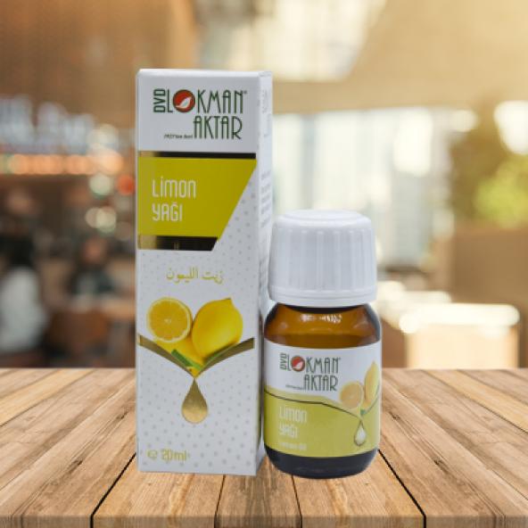 Lokman Aktar Limon Yağı - Lemon Oil - 20 ml