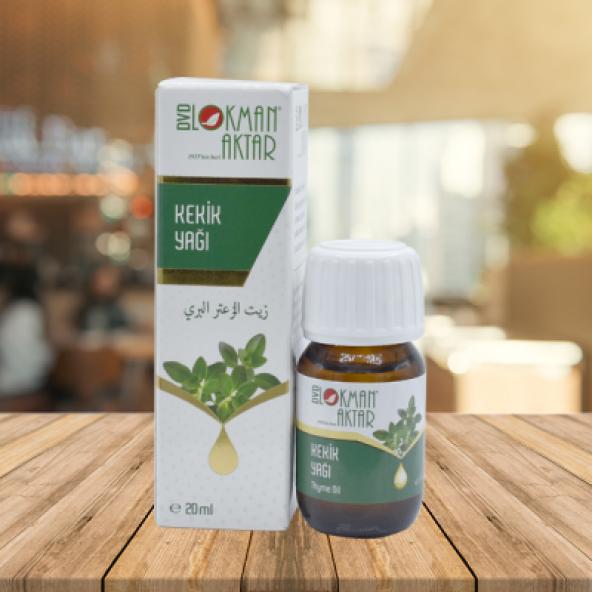 Lokman Aktar Kekik Yağı - Thyme Oil - 20 ml
