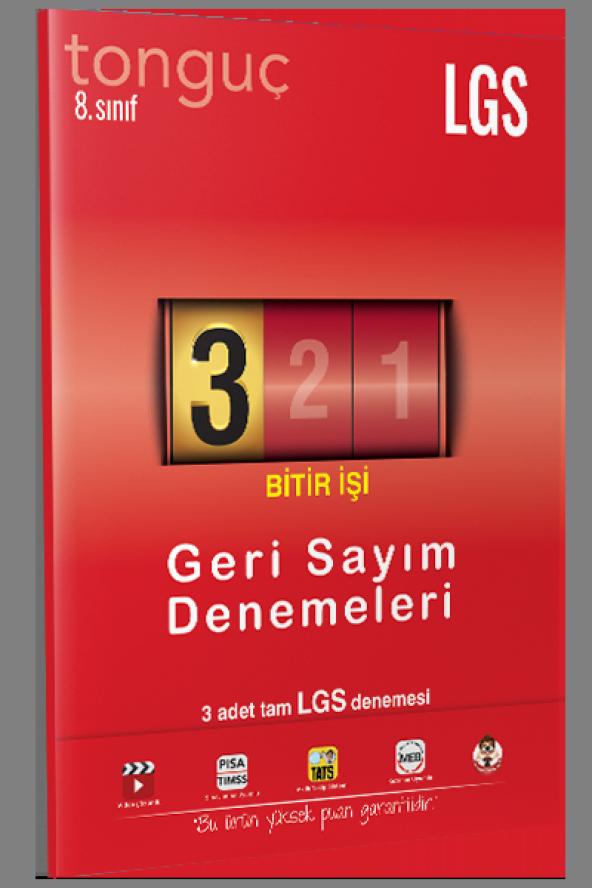 Tonguç Akademi 8. Sınıf LGS Geri Sayım Denemeleri 3