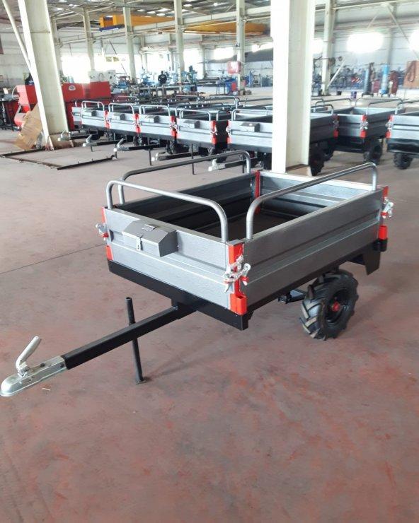 Can ATV Araç Römorku Çok Amaçlı Demonte Römork 90x120cm