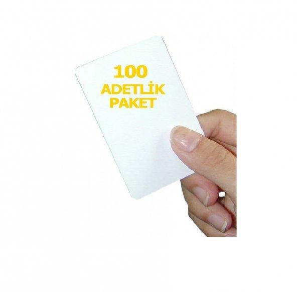 1.Sınıf Proximity Kart (Seri numara baskılı ) 100 adet