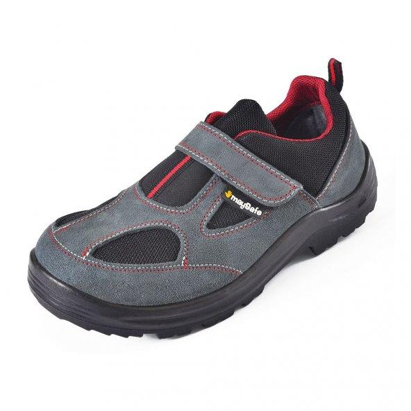 May Safe Süet Çelik Burun Ayakkabı