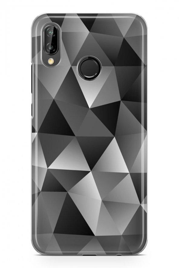 Huawei Y9 2019 Kılıf Triangle Serisi Mckenna