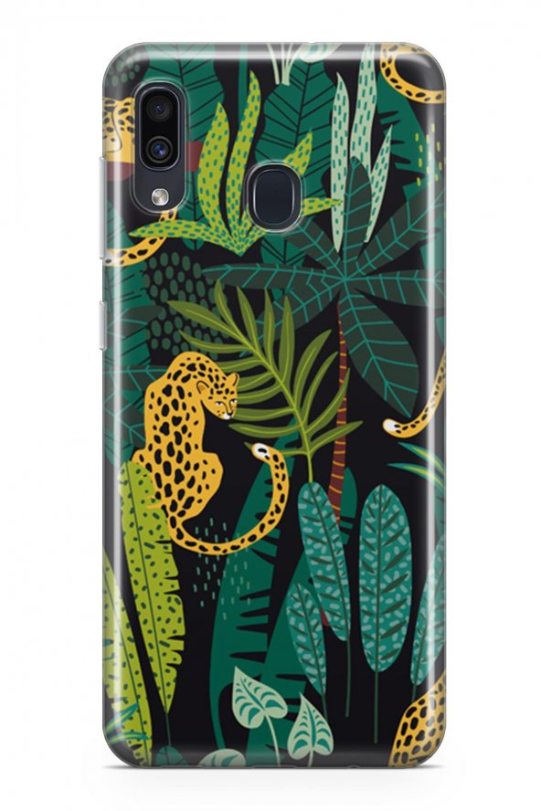 Samsung Galaxy A20 Kılıf Jungle Serisi Josephine
