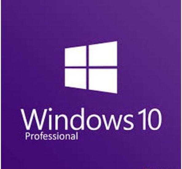 Windows 10 Pro 32/64bit Retail Lisans Anahtarı