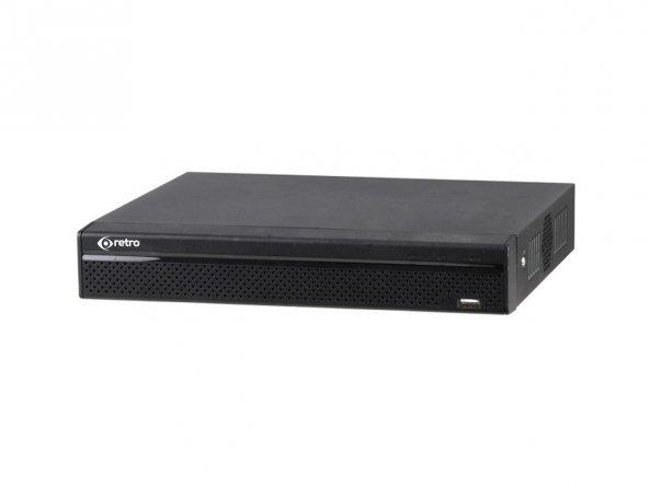 Retro RD-5104XVR 4 Kanal 1080p 1xSata 1xSes XVR Kayıt Cihazı