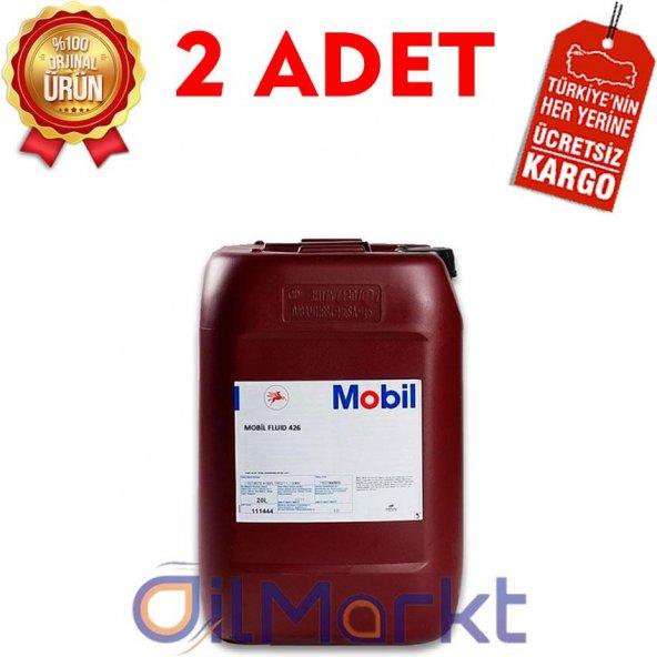 Mobil Fluid 426 20 Lt Çok Amaçlı Traktör Sıvısı (2 Adet)