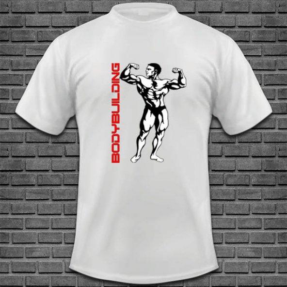 Bodybuilding Baskılı Tişört Tasarımı BODY-010