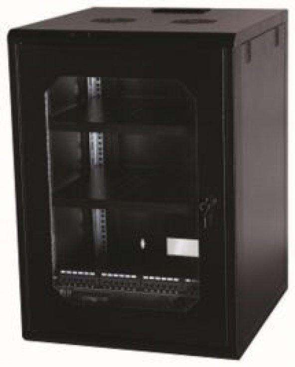 Ulusal ULS16U6060 16U Duvar Tipi Soho Rack Kabinet - 600x600mm