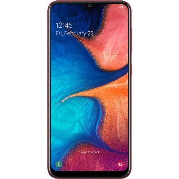 Samsung Galaxy A20 32 GB Kırmızı Cep Telefonu (Samsung Türkiye Garantili)