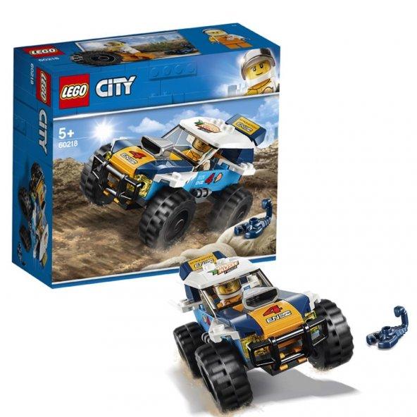 LSC60218 Çöl Rallisi Yarış Arabası /City +5 yaş LEGO 75 pcs/özel iskontolu ürün