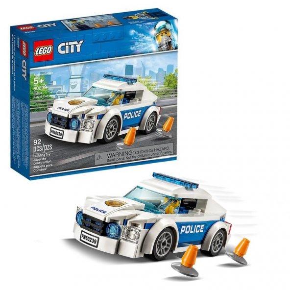 LSC60239 Polis Devriye Arabası /City +5 yaş LEGO 92 pcs