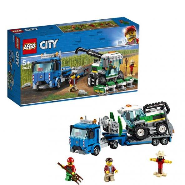 LSC60223 Biçerdöver Nakliye Aracı/City +5 yaş LEGO 358 pcs