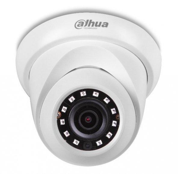 Dahua HDW1230SP-0280B 2mp 2.8mm sabit Lens IR Dome IP Kamera