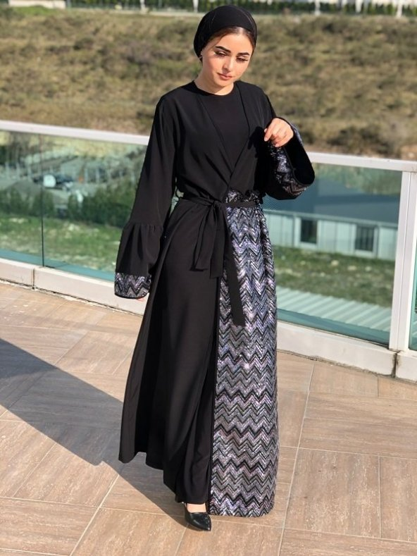 Siyah Pul Abaya