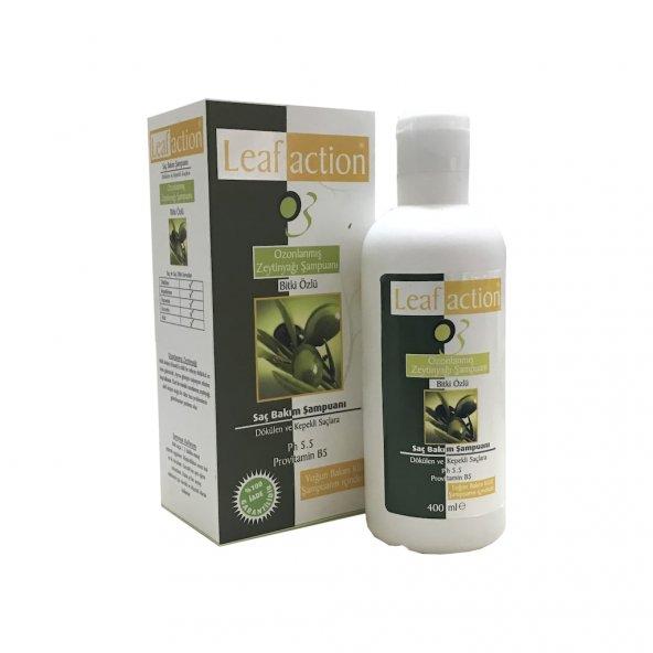 Leaf Action Ozonlanmış Zeytinyağı Şampuanı 400 ML