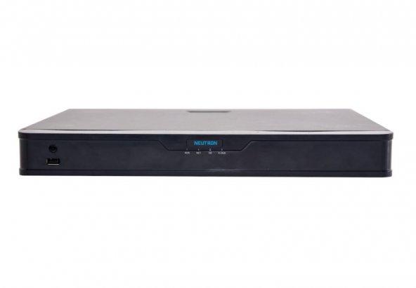 NEUTRON NVR302-16E-B 16 Kanal 2 HDD NVR Kayıt Cihazı