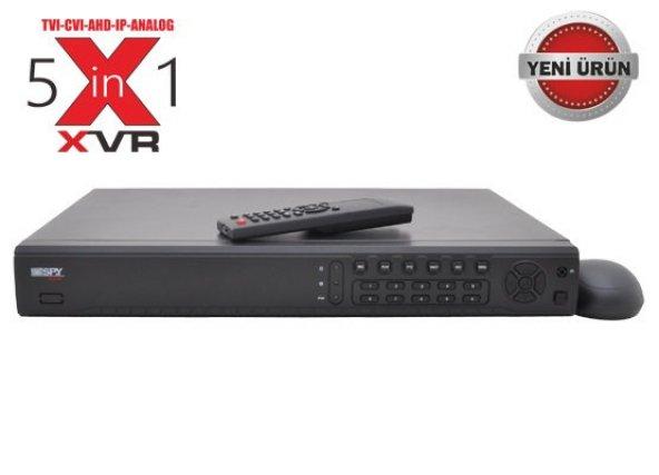 SPY SP-NVR5016 16 Kanal 8mp Destek 2X4TB HDD NVR Kayıt Cihazı