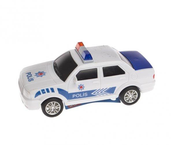 Birlik Oyuncak Sürtmeli Polis Arabasi 12 li