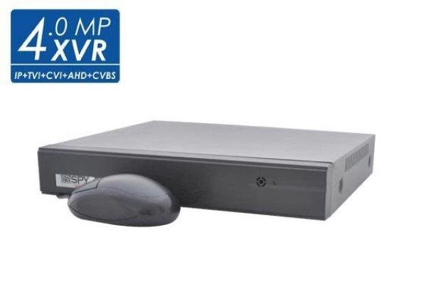 SPY SP-XVR204-4MP 4 Kanal 4mp 5in1 XVR Hibrid Kayıt Cihazı