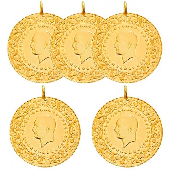 5 Yeni Tarihli Tam Altın