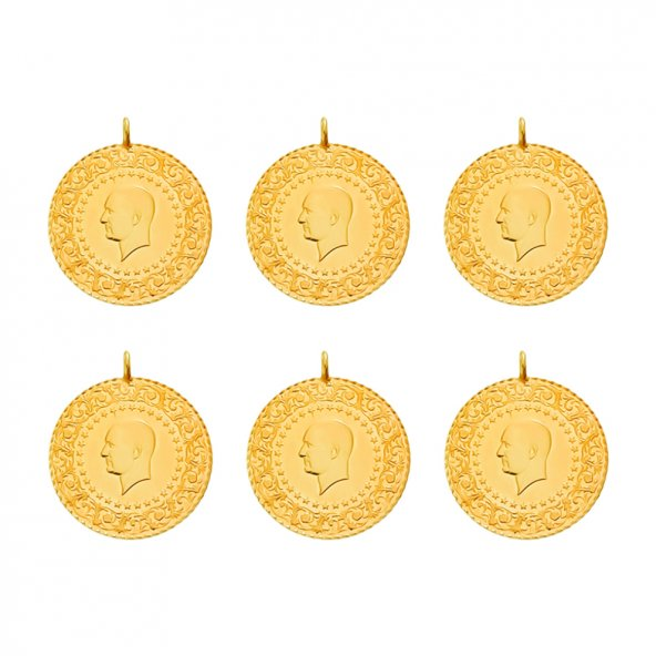 6 Adet Eski Tarihli Çeyrek Altın