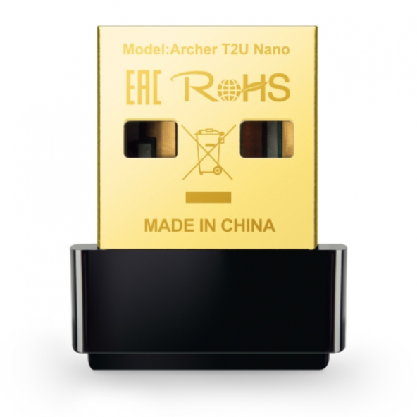 TP-LINK Archer T2U NANO 600 MBPS KABLOSUZ USB ADAPTÖR