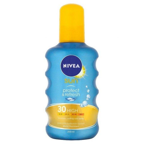 Nivea Sun Koruma & Ferahlık Transparan Güneş Spreyi SPF 30 200 ml