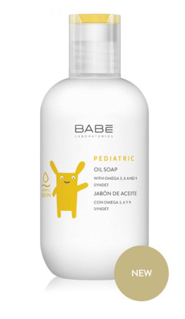BABE Pediatric Oil Soap Kuru Atopik Bebek Duş Yağı +19ml HEDİYE