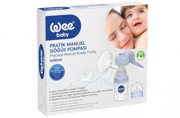 WEE Baby Pratik Manuel Göğüs (Süt) Pompası