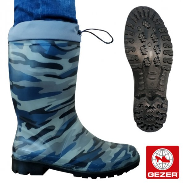 Gezer Kamuflaj-2 Konçlu Çizme No: 46