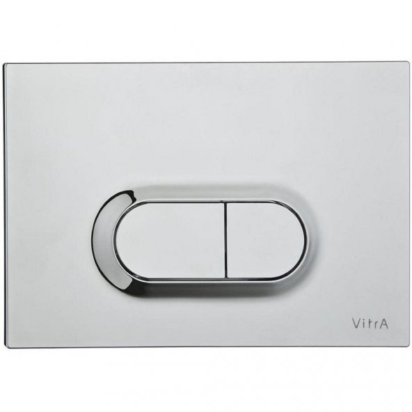 Vitra Loop O Kumanda Paneli, Paslanmaz Çelik - 740-0940
