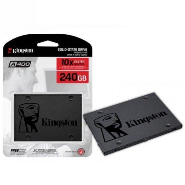 240GB Kingston A400 SSDNow 500MB-350MB/s Sata3 SSD (SA400S37/240)