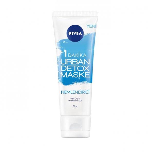 Nivea 1 Dakika Urban Detox Gözenek Arındırıcı Maske 75 Ml