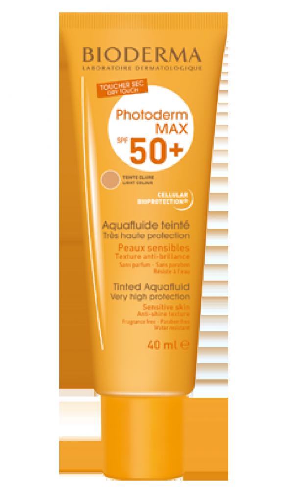 Bioderma Photoderm Max Aquafluide Lıght SPF50+ 40 ml (AÇIK TON SKT 11.2020)