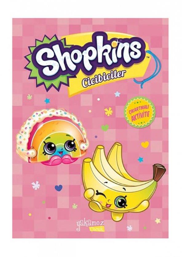Shopkins Cicibiciler Boyama Çıkartmalı Aktivite