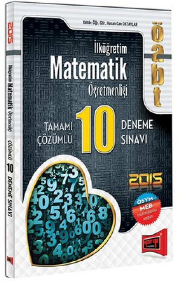 Yargı Kpss Öabt İlköğretim Matematik Öğretmenliği Deneme 10Lu