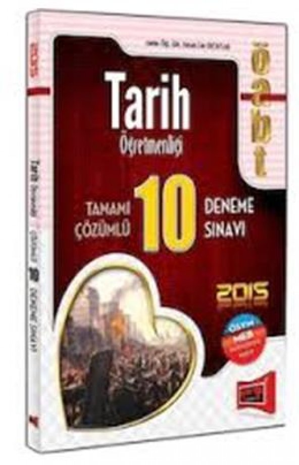 Yargı Kpss Öabt Tarih Öğretmenliği Deneme 10Lu 2015