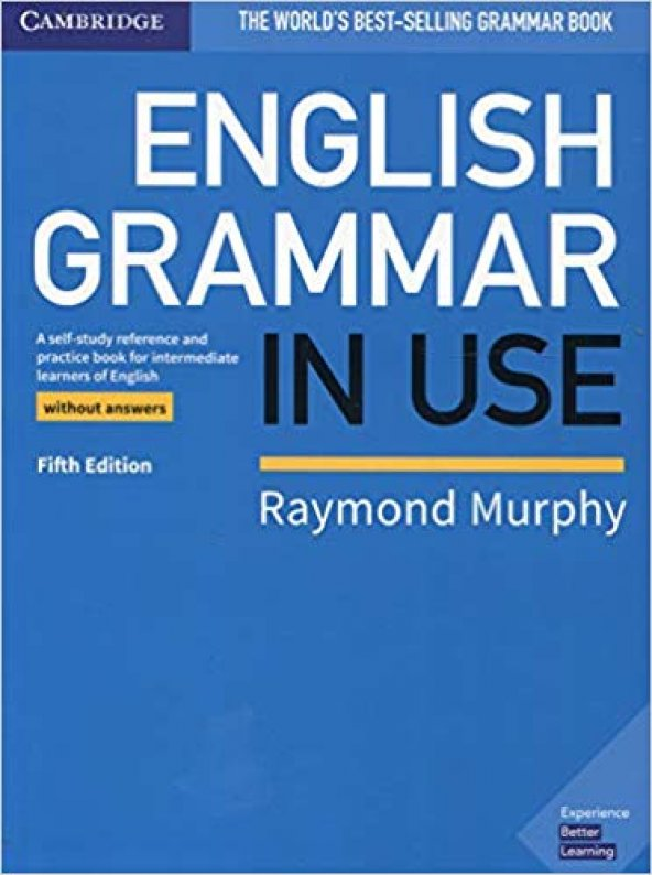 English Grammar in Use Book with Answers Cambridge