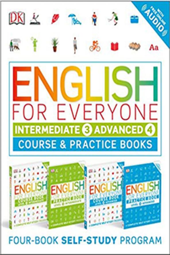 English for Everyone Slipcase: Intermediate 3 and Advanced 4
