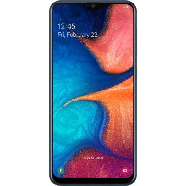 SAMSUNG GALAXY A20 BLUE CEP TELEFONU
