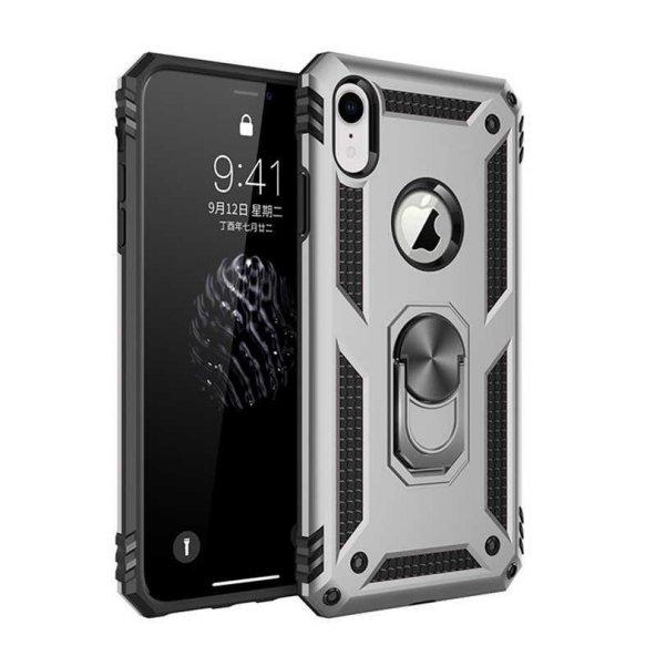 Edelfalke Apple iPhone X Vega Silikon Kılıf Gri