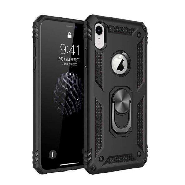 Edelfalke Apple iPhone X Vega Silikon Kılıf Siyah