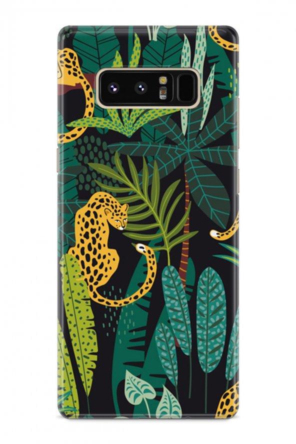 Samsung Galaxy Note 8 Kılıf Jungle Serisi Josephine