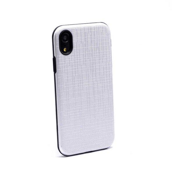 Apple iPhone XR 6.1 Kılıf Zore New Youyou Silikon Kapak + Cam Ekr