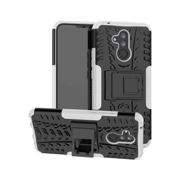 Huawei Mate 20 Lite Kılıf Zore Hibrit Silikon Kapak + Cam Ekran K