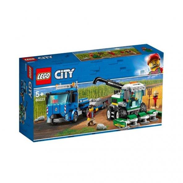 Lego City Biçerdöver Nakliye Aracı Eğitici Zeka Geliştiren Oyunca