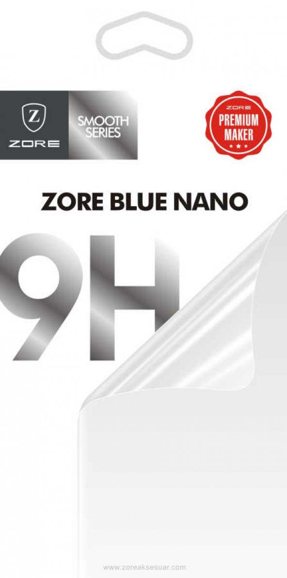 Galaxy J7 Duo Zore Blue Nano Screen Protector Temperli Ekran Koru